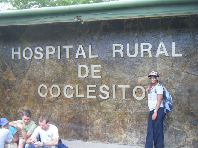 Only clinic in the area Coclesito, Panama