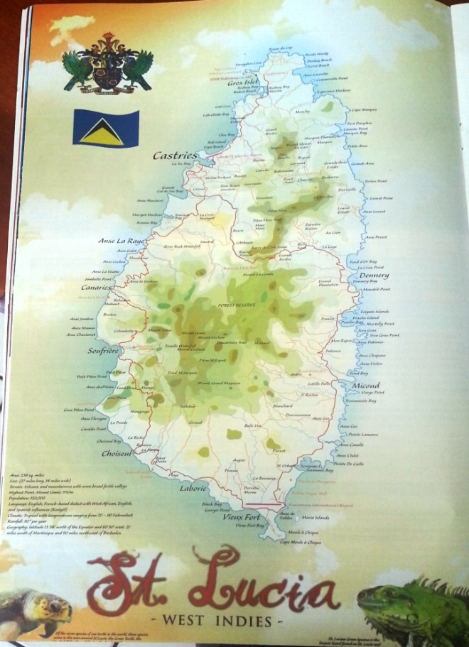 Island of Saint Lucia