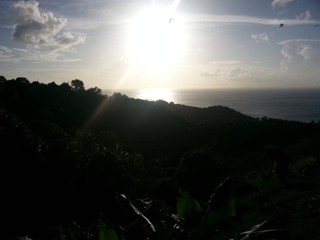 Beautiful Sun Setting in Canaries!